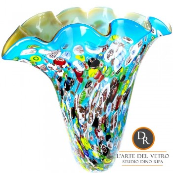 Vaas glaskunst model Venice Dino Ripa