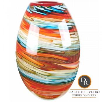Murano Glaskunst vaas Callisto Dino Ripa