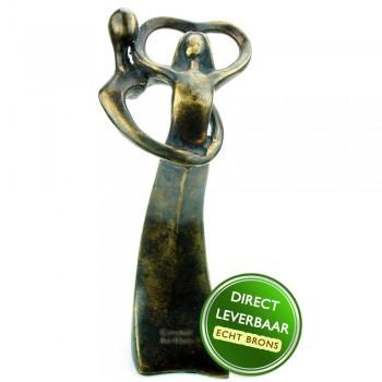 Bronzen beeldje Hartendans Art Unica Amersfoort