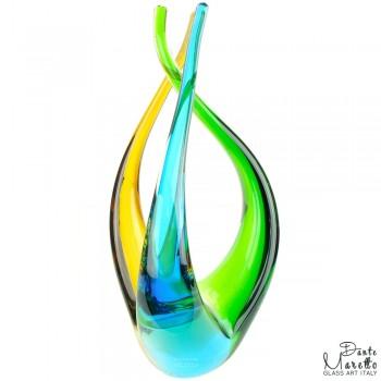 Drie Eenheid glaskunstobject