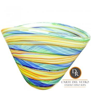 Allessandria Murano glaskunst schaal