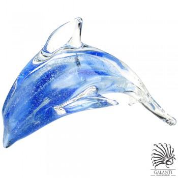 Dolfijn beeldje glas