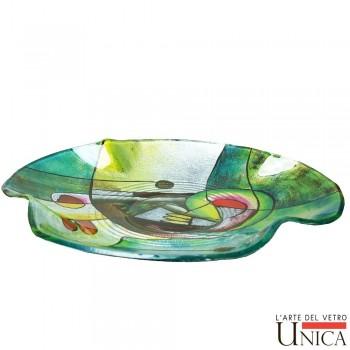 Schaal glaskunst Viareggio