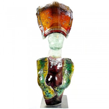 Eos glassculptuur Hans Janssen