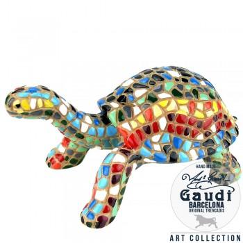 Schildpad beeldje mozaiek
