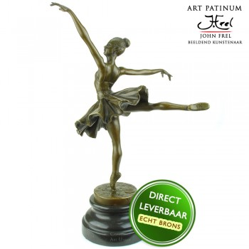 Ballerina beeldje