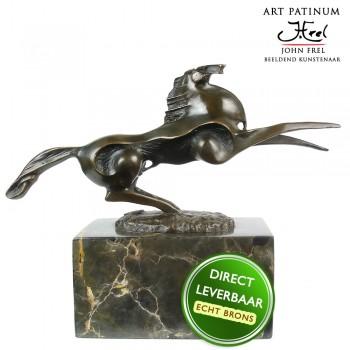 Bronzen beeld paard