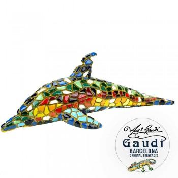 Dolfijn beeldje mozaiek