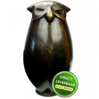 Bronzen beeldje Uil Art Unica