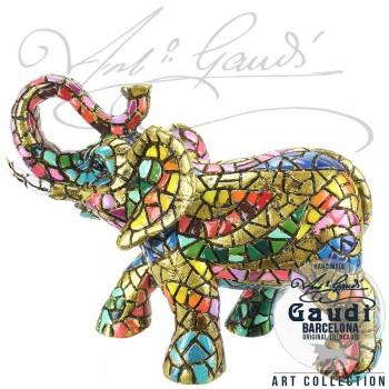 Olifant beeldje Gaudi mozaiek