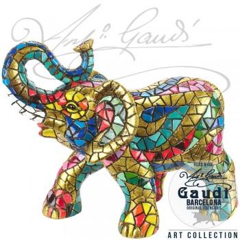 Gaudi Olifant beeldje mozaiek