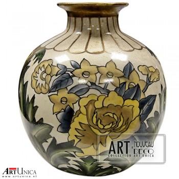 Bolle vaas Art Nouveau Jugendstil Art Unica