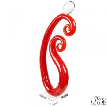 Both of Us glassculptuur Unica Dante Maretto