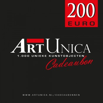 Cadeaubon Art Unica 200 Euro