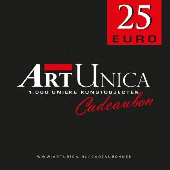 Cadeaubonnen Art Unica 25 Euro