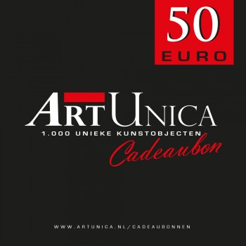 Cadeaubonnen Art Unica 50 Euro