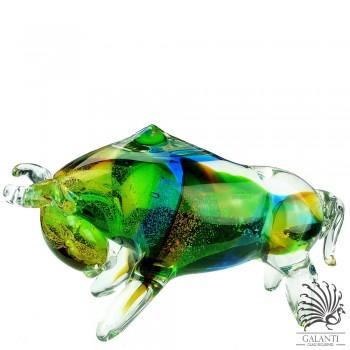 Stier Glaskunst beeld Art Unica