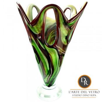 Glaskunst vaas Treviso