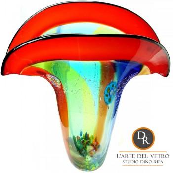 Glaskunst vaas Florence Dino Ripa