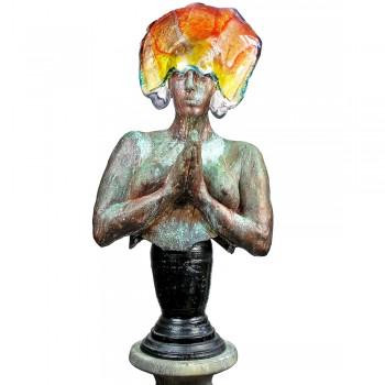 Gaia keramiek sculptuur Hans Janssen