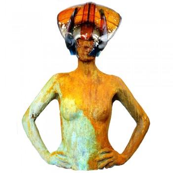 Keramiek beeld groot Hans Janssen Art Unica