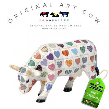 Art Cow Koeienbeeldje keramiek Cali Cow Unica
