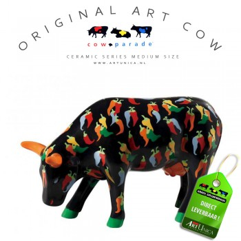 Cow Parade Koeienbeeldjes keramiek Art Unica