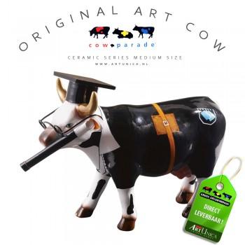 Art Cow Koeienbeeldje keramiek Cow Doutura Art Unica