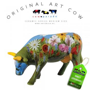 Art Cow Koe beeldje keramiek La Dolce Vida Art Unica