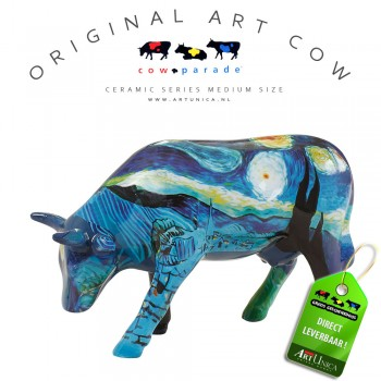 Art Cow Koe beeldje keramiek Vincent's Cow Art Unica