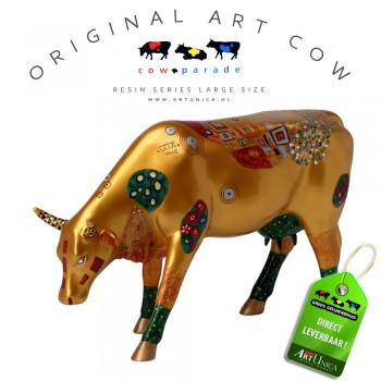 Cow Parade Klimt Koeienbeeld Art Unica