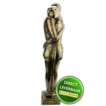 Bronzen beeld Liefde 31cm Art Unica