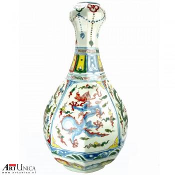 Ming vaas Xuande zijde 2