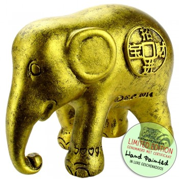 Lucky Coins Elephantbeeldje olifant
