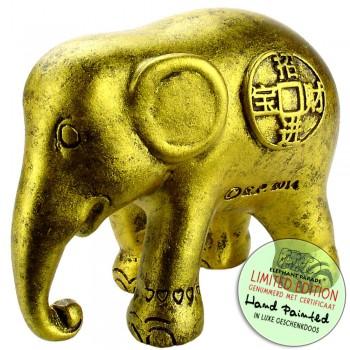 Lucky Coins Elephantbeeldje olifant