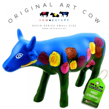 Koebeeldje klein Netherlands Cow parade