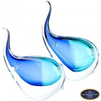 Olifanten kristal glas set