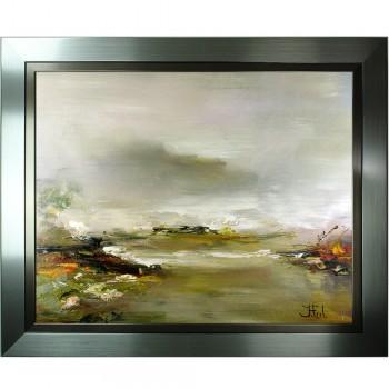 Schilderij Impressionisme John Frel Bay near Antibes met sierlijst