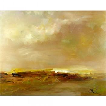 Schilderij Near The Bay et sierlijst John Frel