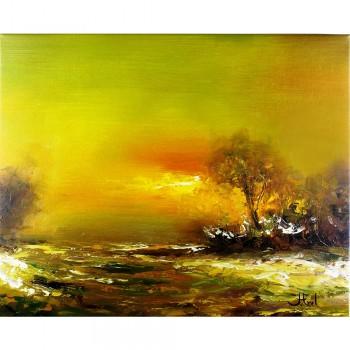 Schilderij Sunset John Frel met sierlijst
