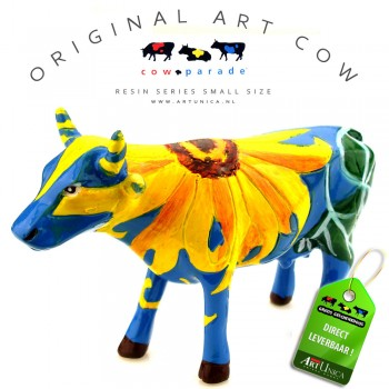 Koebeeldje Udderly Sunflowers Art Unica
