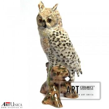 Uil porselein Art Unica groot