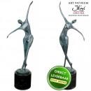 Life Dance set bronzen beelden