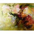 Schilderij John Frel Impressionisme Mixed Flowers