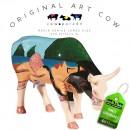 Fernando de Noronha Art Cow Koebeeld beschilderd