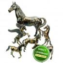 Bronzen beeldjes paarden Art Unica