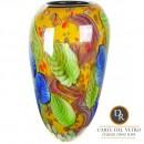 Glaskunst vaas Abetone Dino Ripa