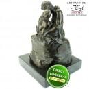 Rodin De kus beeld