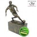 Voetballer beeld brons Art Unica