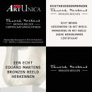 Eduard Martens Art Unica bronzen beelden echtheidskenmerken